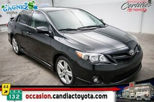 2012 Toyota Corolla XRS * AUTO * AC * PACK ELECTRIQUE * CUIR * B