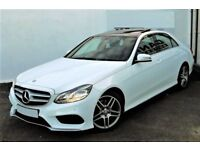 HUGE SPEC! (2014) MERCEDES E220 CDI AMG SPORT - PAN ROOF - LEATHER - ALLOYS - FULL MERCEDES HISTORY
