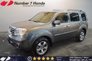 2015 Honda Pilot EX-L| Leather, Backup Cam, DVD!