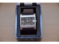 Armani Exchange Watch AX1060 Brown Leather strap Brand New