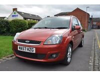 FORD FIESTA 1.25 ZETEC CLIMATE 3DR PETROL ( MOT HISTORY,LOW MILES)
