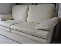 2-seater, excellent condition, hardwood frame sofa