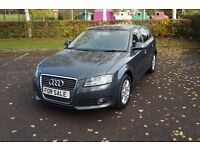 ** IMMACULATE 2010 AUDI A3 1.6TDI SE ** £20 Road Tax Low Miles( vollkswagen ford vauxhall mercedes )