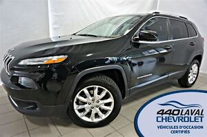 2014 Jeep Cherokee Limited CUIR TOIT 4X4 ** 105$ /semaine **