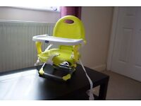 Chicco Pocket high chair Seat Excellent condition From free smoke and pets home