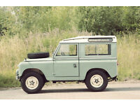 "Land Rover Series or Defender wanted projects considered ""some"" cash available for right vehicle"