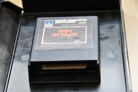 Very Rare Atari 400/800/1200 computer Rom cartridge - Orc Attack with case, Thatcham, Berks