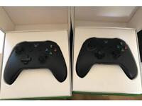 Xbox one controllers, brand new and unused