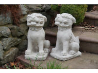 A Super pair of Chinese Foo dogs or dragons