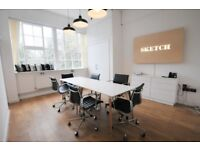 Desk Spaces in a Wonderful, Bright and Airy Studio Overlooking the Local Park in Earlsfield