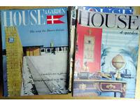 Bulk lot of 1960s House & Garden magazines