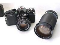 pentax mv 35mm slr analog film camera zoom macro lens lomo lomography
