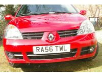 Superb Clio Campus Sport. Fun to drive but cheap to run. Ideal first car. One owner. Full MOT