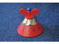 Red Alessia Kitchen Timer