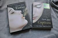 Captivate by Carrie Jones, Entice by Carrie Jones