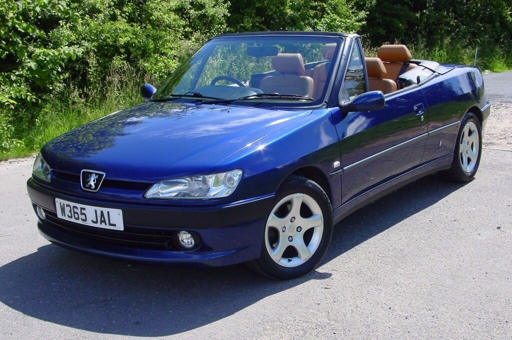 lovely peugeot 306 convertible cabriolet px in mansfield nottinghamshire gumtree. Black Bedroom Furniture Sets. Home Design Ideas
