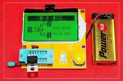 Mega328 Transistor Tester Diode Triode Capacitance Esr Meter Mospnpnpn Lcr