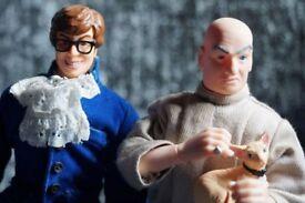 AUSTIN POWERS & DR EVIL - Talking dolls