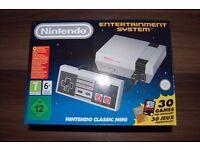 Nintendo Classic Mini NES (Brand New and Unopened)