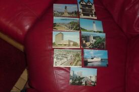 SELECTION OF 9 OLD POSTCARDS OF PLACES IN PLYMOUTH IN GOOD CONDITION
