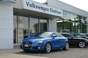 2010 Audi TT quattro S-Line Heated Leather/Suede