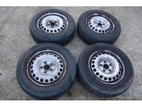 "VW Volkswagen 16"" steel wheels 5x120 T5/5.1/6 Transporter 205 65 16C SE Kent"