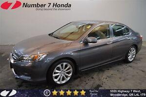 2014 Honda Accord Touring  Loaded, Leather, Navi!
