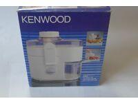 Kenwood Juicer. 2 speed. Quiet operation