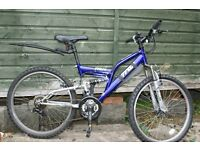 "TRAX TFS 24 Childs Mountain Bike (24"" Wheels) Age Range 8-12 - Excellent Condition"