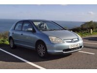 Honda Civic New MOT low Mileage lots of service history used daily great car