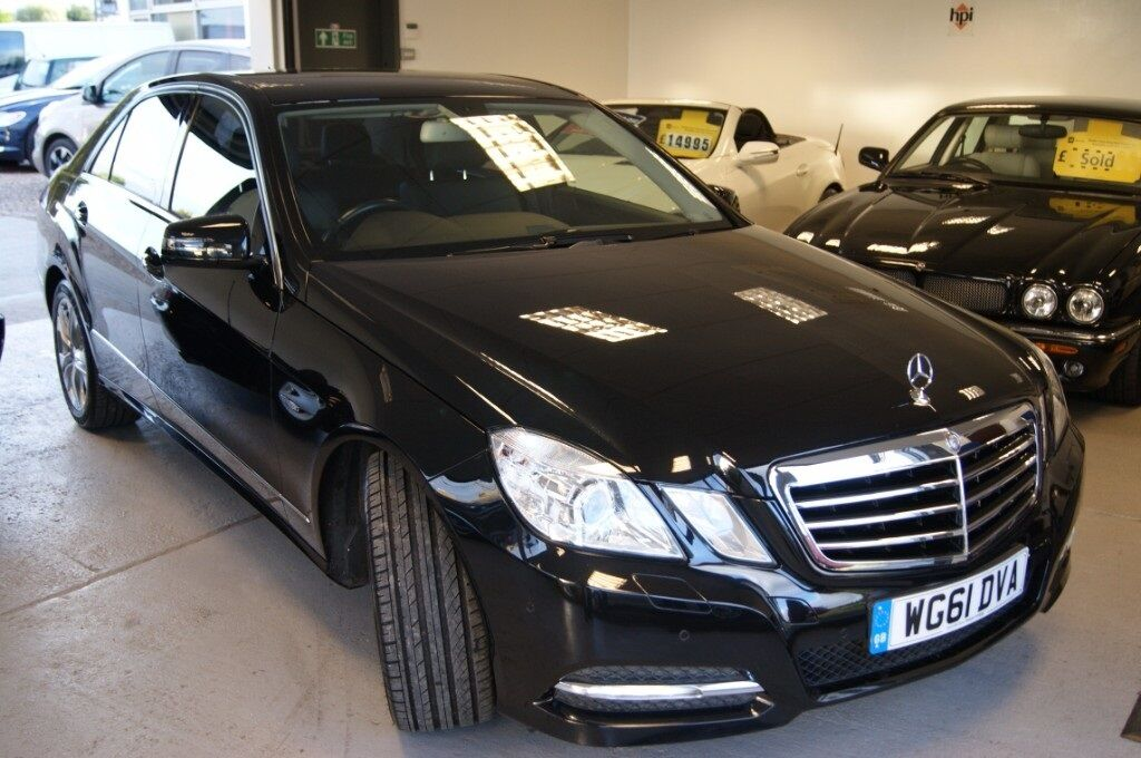 mercedes-benz e class e220 cdi blueefficiency executive se (black