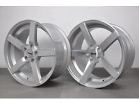 """18"""" Staggered OEMS 115 alloy Wheels and Tyres for BMW 3 Series"""