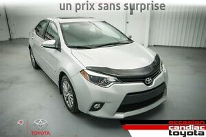 2014 Toyota Corolla LE *** RESERVE *** AC * TOIT * MAGS *BANC *