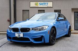 2015 BMW M3 EXECUTIVE, PREMIUM, TECH, WARRANTY TO 2022