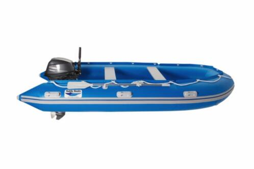 Rib boot Noble Boats 3,50 m. aluminium ribboot nieuw!