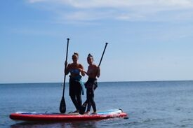 PADDLEBOARD lessons / hire