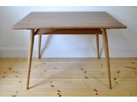 Vintage Retro 60's Ercol Rectangular Breakfast / Dining Table (model 393) - As New - Renovated