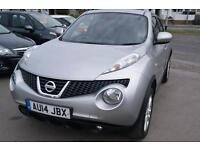 Nissan Juke Acenta Premium dCi 5dr (silver) 2014