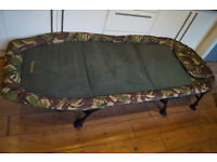 WYCHWOOD TACTICAL WIDE FLATBED CARP FISHING BEDCHAIR CAMPING Z BED