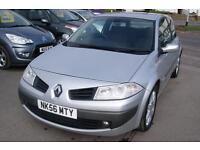 Renault Megane Dynamique VVT 3dr (grey) 2007