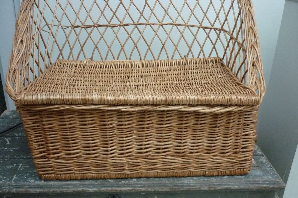 Amazing Wicker Storage Bench Seat Chair Small In Chandlers Ford Hampshire Gumtree Machost Co Dining Chair Design Ideas Machostcouk