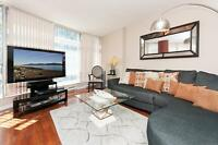 SEPT 01! 2 BR Furnished, City Views COAL HARBOUR #1102