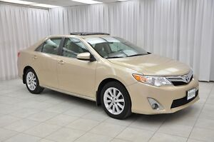 2012 Toyota Camry XLE SEDAN w/ HTD LEATHER, NAV, BLUETOOTH & 17""