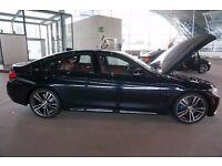 "Genuine New BMW 442M 19"" M Sport Plus Double Spoke Alloy Wheels and Tyres , Bi-colour orbit grey."