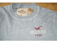 Brand New with tags Hollister Long Sleeve Logo Top Mens size XL