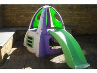 Childrens Buzz Lightyear Rocket Slide Frame