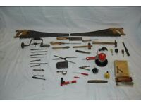 Assortment of woodworking and other tools