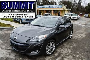 2011 Mazda MAZDA3 SPORT GT | HEATED SEATS | LEATHER SEATS | SUNR