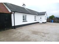 two bedroom cottage to rent over looking the sperrins & greencastle