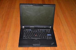 Lenovo ThinkPad R500 Laptop - Pentium IV Dual Core! with Windows 7 / 160 GB HDD / 2 GB RAM *** AMAZING DEAL! ***